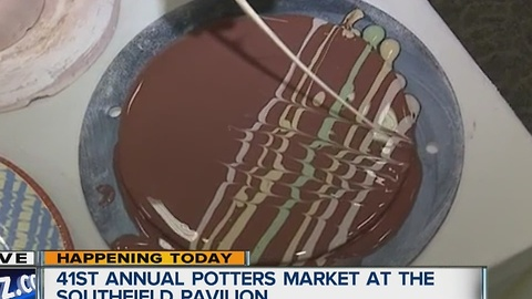 Annual Potters Market (6:30)