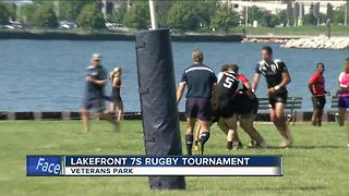 Lakefront 7s Rugby Tournament - Video