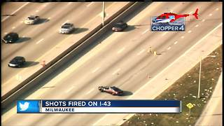 Sheriff: Report of shots fired on I-43 in Milwaukee County - Video