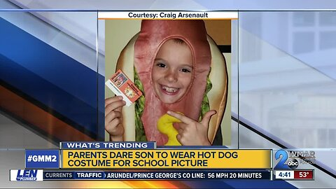 Hot Dog Costume Kid