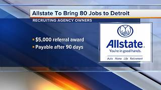 Workers Wanted: Allstate recruiting agency owners - Video