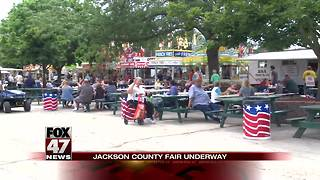 Jackson County Fair kicks off 164th year - Video