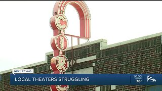 Local theaters staying afloat while closed amid pandemic