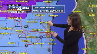 Frost advisory issued for Saturday morning - Video