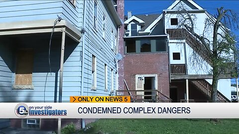 Cleveland residents share safety concerns about condemned apartment building