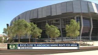 Milwaukee Bucks seek naming rights deal for new downtown arena - Video