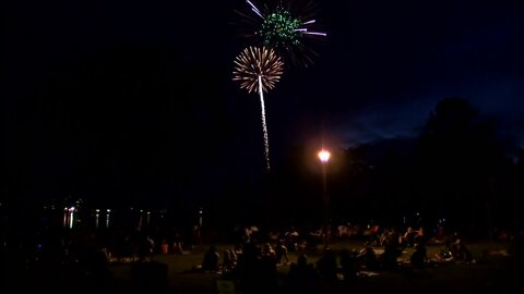 Oconomowoc fireworks draw crowd despite pandemic