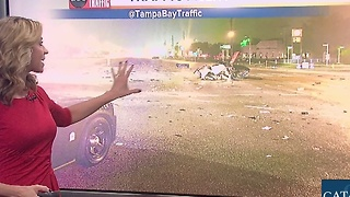 2 seriously injured after 2 vehicle crash in Hillsborough County - Video