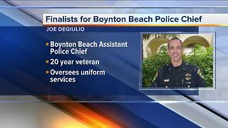 Finalists for Boynton Beach Police