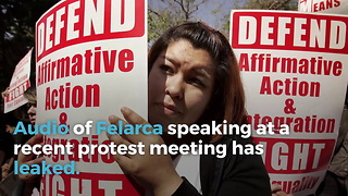 Berkeley Protest Leader Teaches Students How To Avoid Police Detection - Video