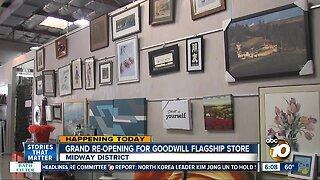 Goodwill's flagship store having grand re-opening