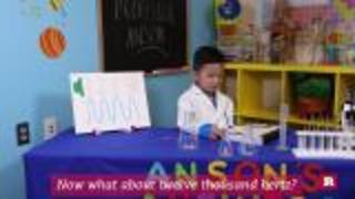 Anson Wong, boy genius, explains how old your ears are based on the sounds you can hear | Anson's Answers - Video