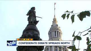 Debate over confederate symbols spreads into Northeast Ohio