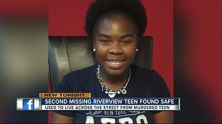15-year-old missing from Riverview home reported safe with state agency - Video