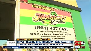Barrington Kitchen pays it forward