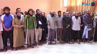 Syrian Islamic State Fighters Escorted Out of Raqqa Under New Agreement - Video