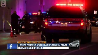 Police still looking for driver of hit-and-run at 22nd & Center