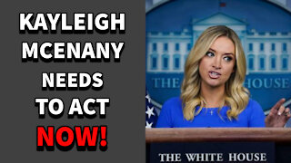 Kayleigh Mcenany Lets LOOSE On MSM Hacks Over Election Fraud, But Trump MUST Hurry!