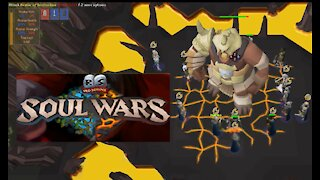 OSRS Runescape 07 Soul Wars Minigame Gameplay 2021 No Commentary