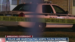 TPD: Man shot after allegedly breaking into apt - Video