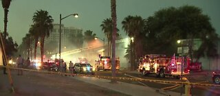 2 people injured in house fire in downtown