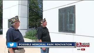 Monuments at Memorial Park could be renovated 5p.m. - Video