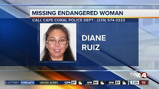 Cape Coral Police Department is search for missing endangered woman