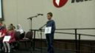 Final Round of Scripps Green Country Regional Spelling Bee. Congrats to all who participated! - Video
