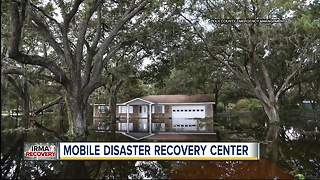 FEMA agents set up in mobile center to help hurricane survivors - Video