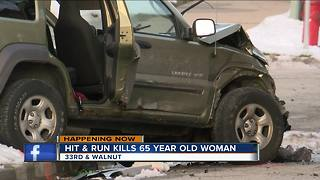 Woman killed in hit-and-run crash involving stolen car