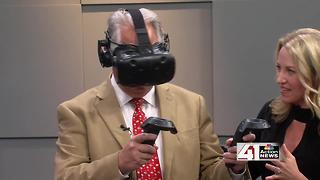 Try out virtual reality at Google Fiber - Video