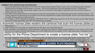 City considering adding license plate readers