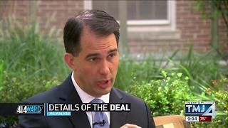 Gov. Scott Walker Discusses Foxconn - Video