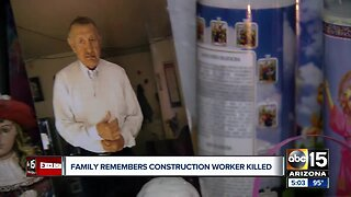 Family remembers construction worker killed in Gilbert