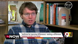 Thomas More College program provides comprehensive services for students with learning differences - Video