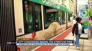 Would you ride the streetcar more often if it were free?