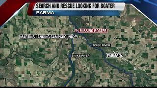 Search continues for boater in Snake River - Video