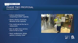 Palm Beach County commissioners to discuss entering Phase Two of Florida's reopening plan