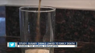 Study: Sugary drinks linked to early death