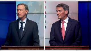 Full video: John Hickenlooper, Andrew Romanoff square off in Senate primary debate