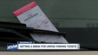 Buffalo looking to give a break on some unpaid parking tickets - Video