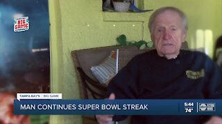 Tampa man will continue streak of going to every Super Bowl