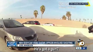 New bodycam video shows officer-involved shooting