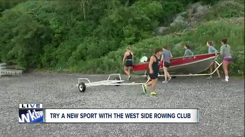 West Side Rowing Club launches national competitors