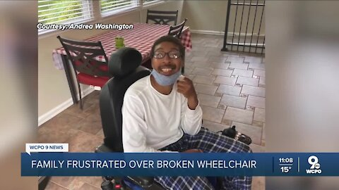 No Medicaid support for broken wheelchair repair leaves family struggling