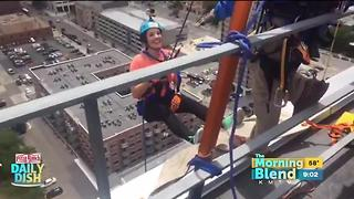 Kelly goes Over the Edge! - Video