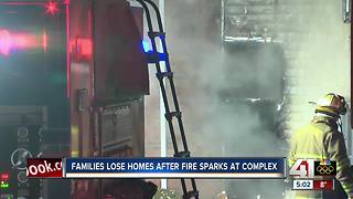 Gladstone apartments evacuated after fire - Video