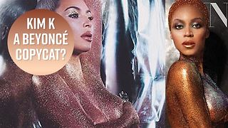Kim K's beauty campaign blatantly copies Beyoncé - Video