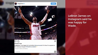 Dwyane Wade Asked Cleveland To Trade Him Back To Miami - Video