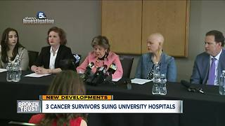 Gloria Allred is in Cleveland on behalf of UH fertility patients - Video